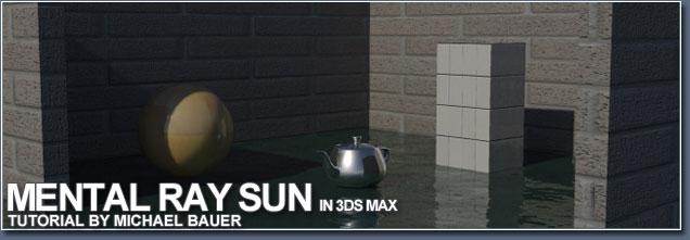 Mental Ray Sun