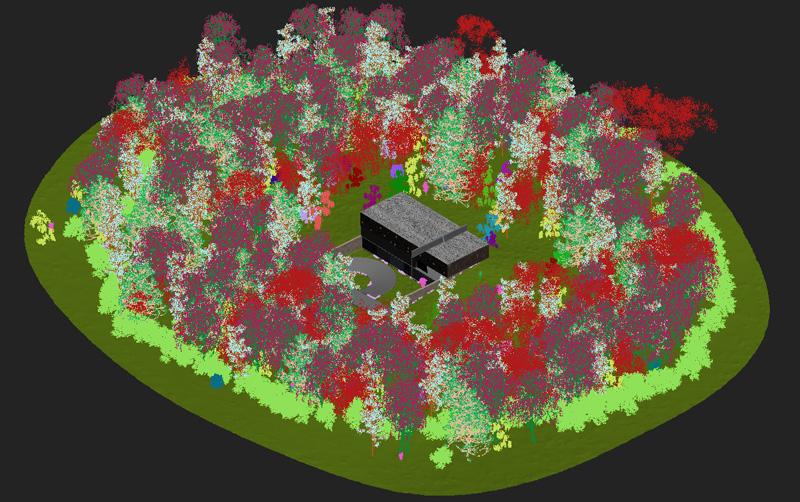render ต้นไม้โดยใช้ Vray